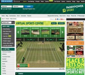 live betting paddy power sport