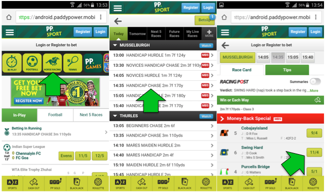 mobile betting apps paddy