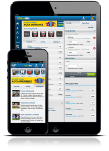mobile betting apps william