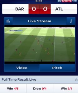 Skybet provides wide range of live betting events